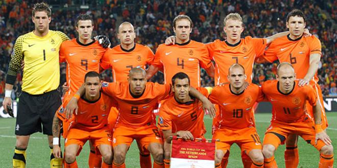 Skuad Tim Nasional Belanda