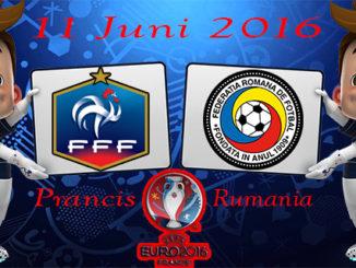 Jadwal Pertandingan Prancis vs Rumania