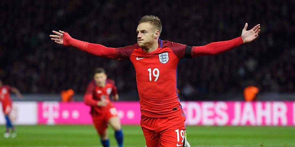 Jadwal Lengkap Piala Euro 2016 - Jamie Vardy - Inggris vs Jerman Euro 2016