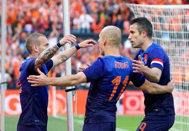 Wesley Sneijder - Arjen Robben - Robin van Persie