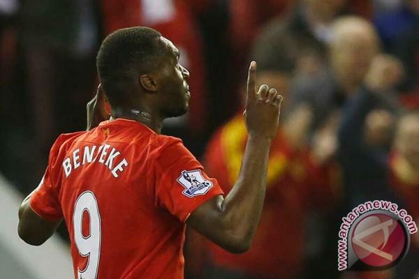 Benteke Selamatkan Liverpool dari Kekalahan atas Chelsea