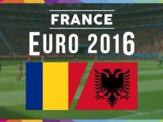 JADWAL PIALA EURO ROMANIA VS ALBANIA