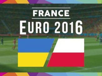 JADWAL PIALA EURO 2016 UKRAINA VS POLANDIA