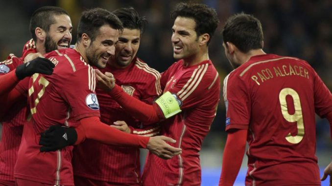 SQUAD SEMENTARA SPANYOL EURO 2016