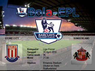 Stoke City vs Sunderland 30 April 2016