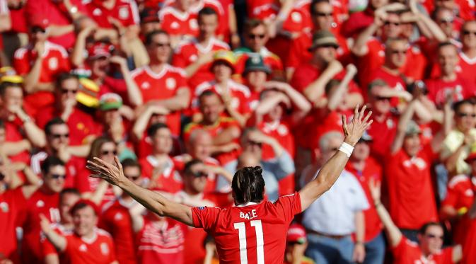Hasil Pertandingan Piala Euro 2016 Wales Vs Irlandia Utara 1-0