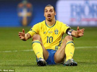Hasil Pertandingan Piala Euro 2016 Swedia Vs Belgia 0-1