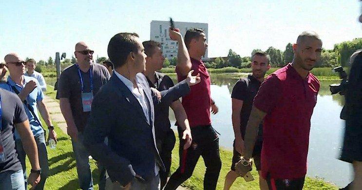 TV Portugal Menuntut Ronaldo Minta Maaf