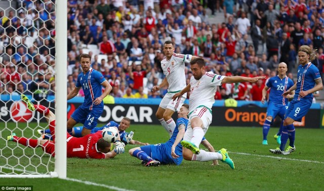 Hasil Pertandingan Piala Euro 2016 Islandia Vs Hungaria 1-1