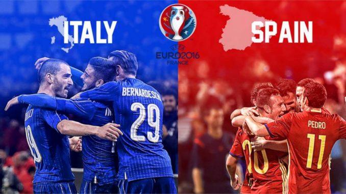 Prediksi Piala Euro 2016 Italia Vs Spanyol