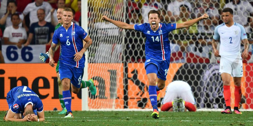 Hasil Pertandingan Piala Euro 2016 Inggris Vs Islandia 1-2