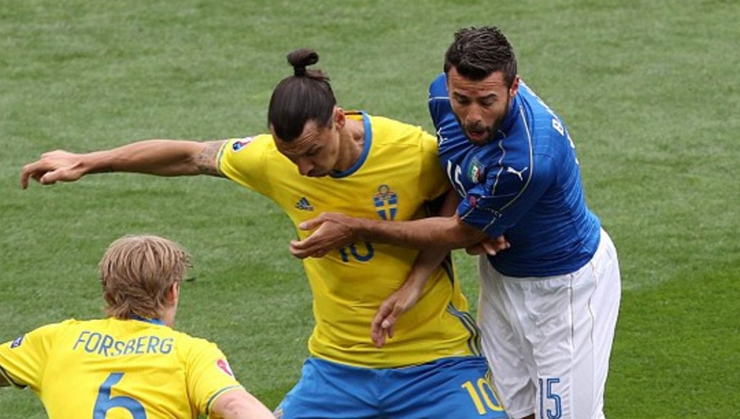 Hasil Pertandingan Piala Euro 2016 Italia Vs Swedia 1-0
