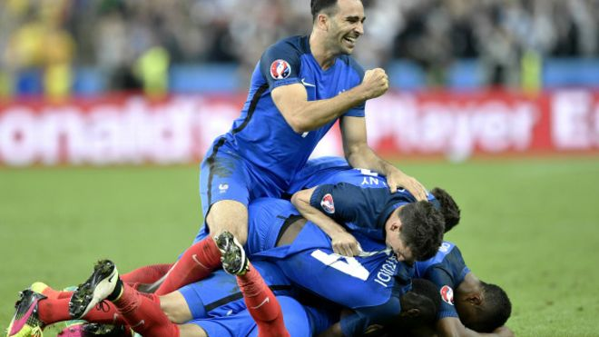 Hasil Pertandingan Piala Euro 2016 Prancis Vs Republik Irlandia 2-1