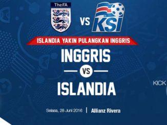 Prediksi Piala Euro 2016 Inggris Vs Islandia